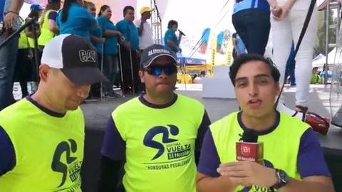 Premiación de la 7ma edición de la Vuelta Ciclística de EL HERALDO