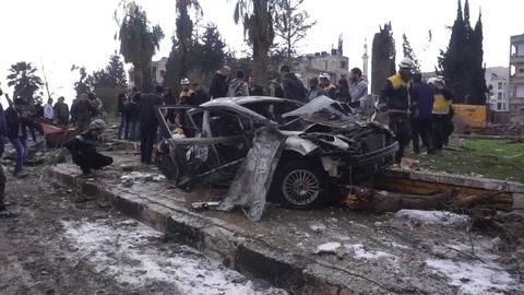 Una veintena de muertos por doble atentado en Siria