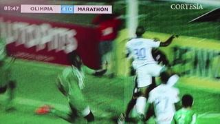 Eddie Hernández anota el cuarto y definitivo para Olimpia