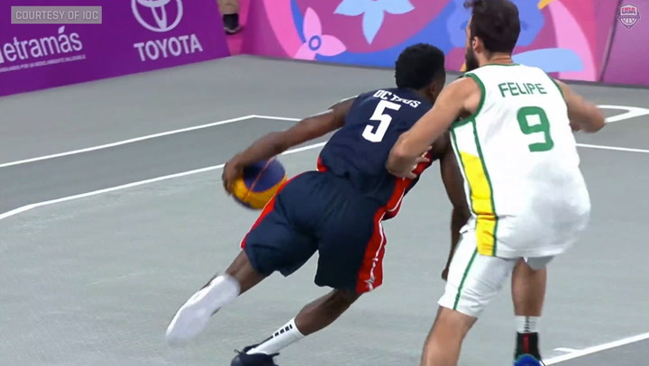 Highlights: USA Men's 3X3 Pan Am Games Medal Round