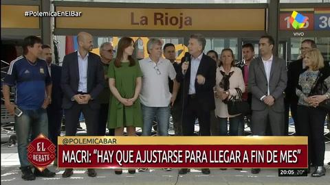 Macri: Sé que cuesta y que hay que ajustarse para llegar a fin de mes