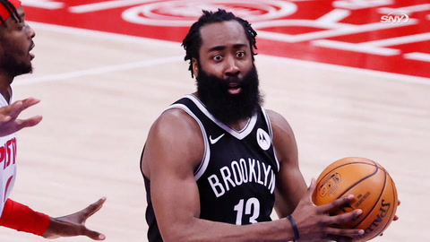 Does James Harden's injury hurt Nets' odds at winning Eastern Conference?