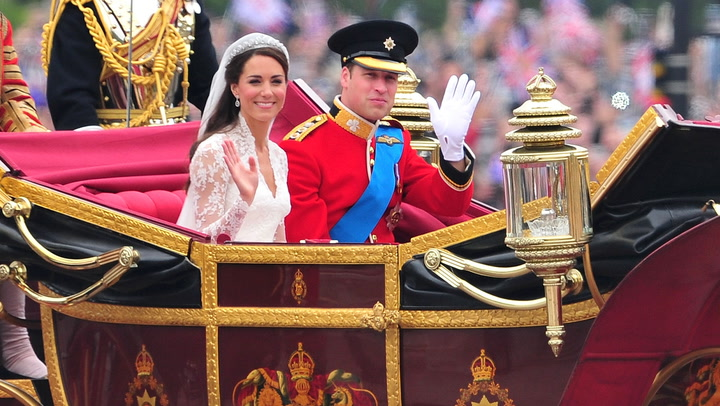 Prince William and Kate Middleton\'s royal wedding