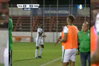 ¡GOOOOOL DEL PLATENSE! Jerrel Britto marca el 1-0 al Yoro Fc