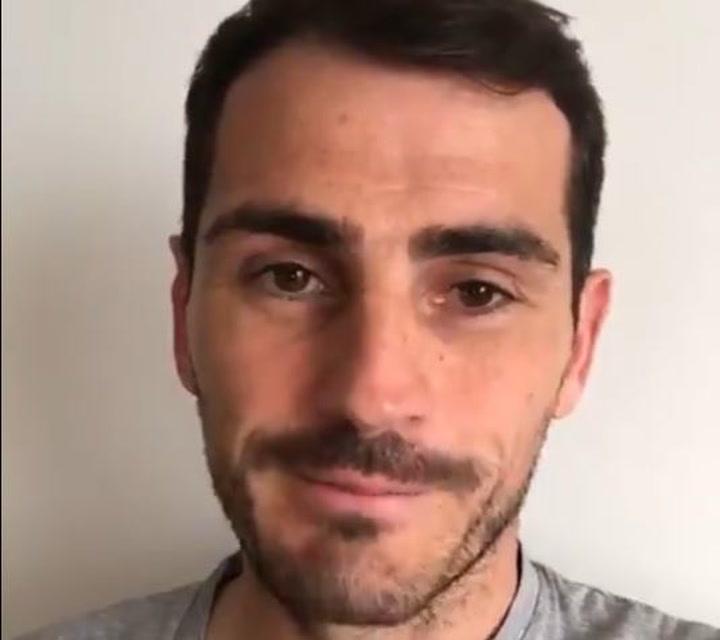 Iker Casillas agradece a los aficionados sus muestras de cariño