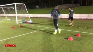 Así fue el primer entrenamiento de la Sub-23 de Honduras ya instalada en Yokohama