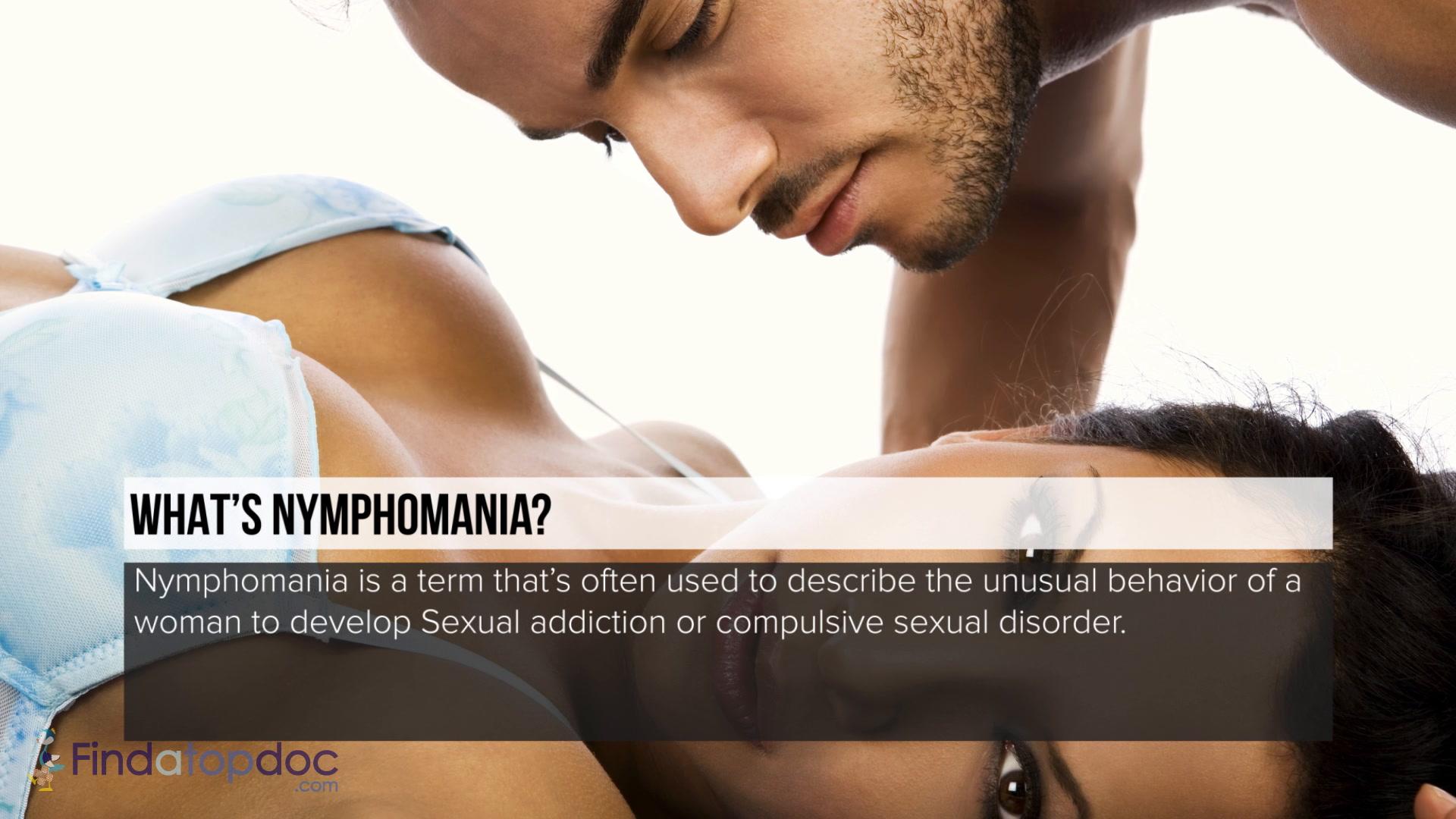 How to satisfy a nymphomaniac