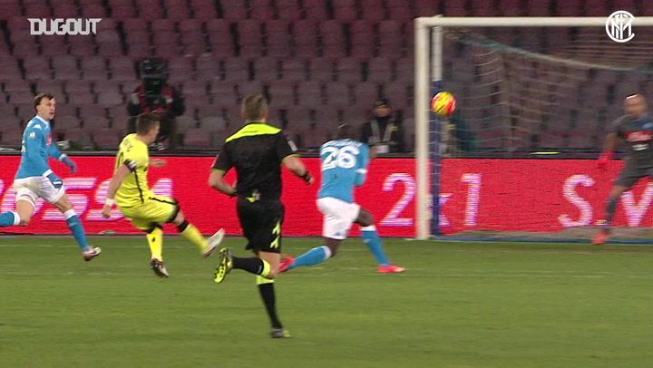 Inter reach Coppa Italia semi-finals after Napoli win