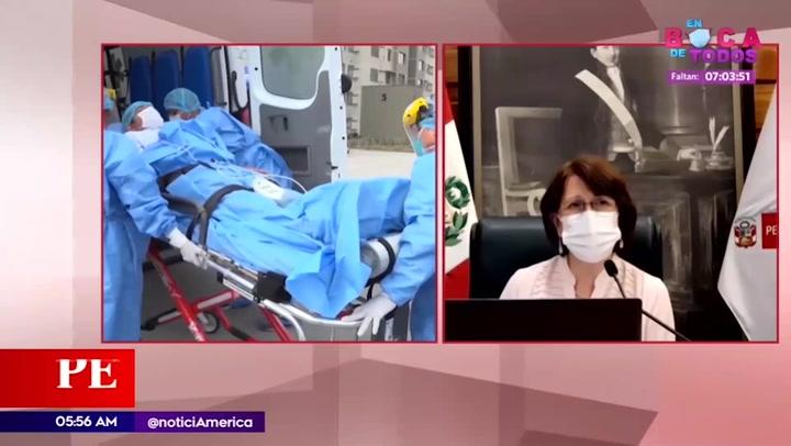 Ministra de Salud: segunda ola de la COVID-19 se encuentra en ascenso