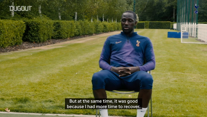 Moussa Sissoko on his surprisingly long injury lay-off