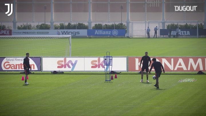 Juventus chuẩn bị gặp Porto tại Champions League