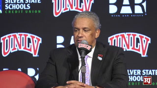 UNLV talks about win over San Diego State