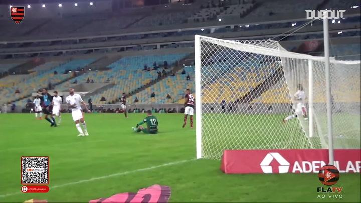 Pedro Rocha's first Flamengo goal