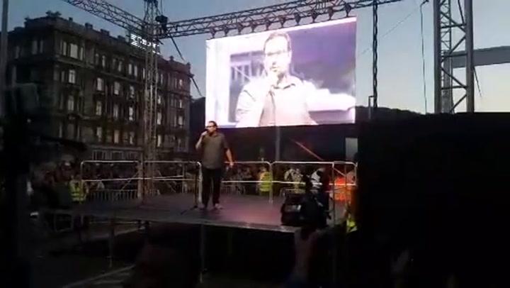 A Mi vagyunk a többség 2.0 tüntetés első szónokai