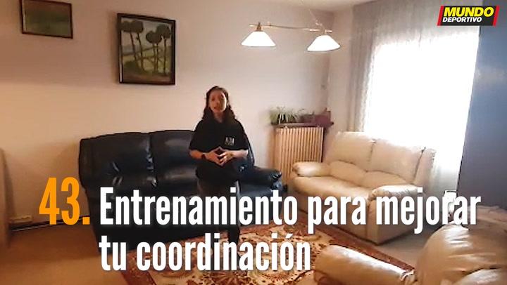 ENTRENA EN CASA (43): Entrenamiento para mejorar tu coordinación