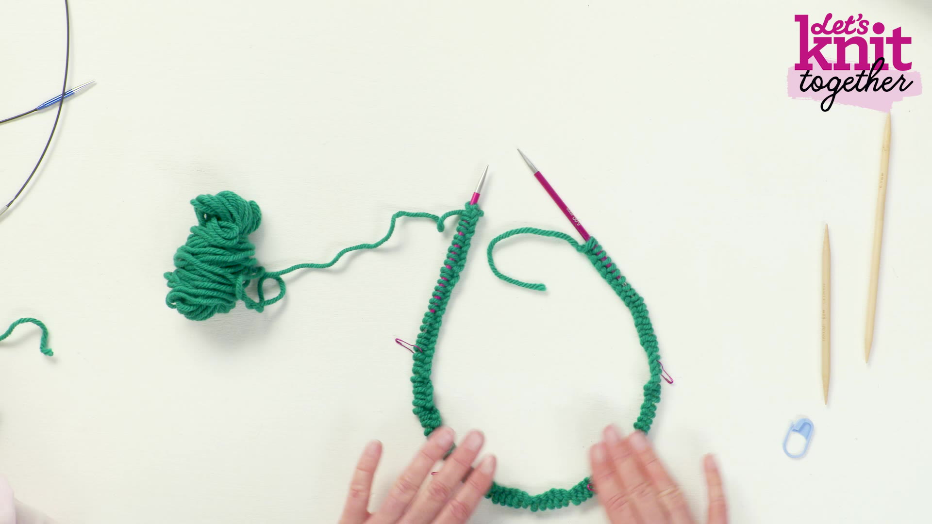 Top Five Tips for Knitting in the Round