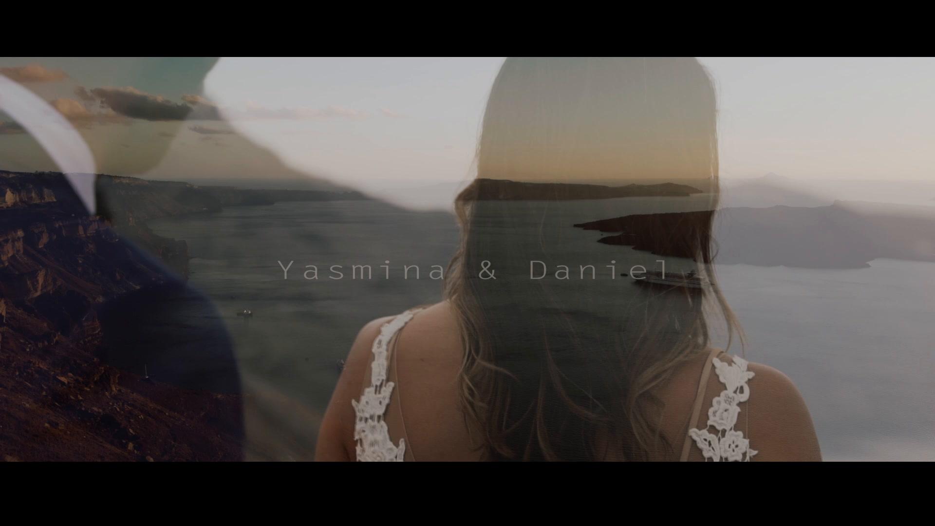 Yasmina + Daniel | Thera, Greece | Le Ciel Santorini
