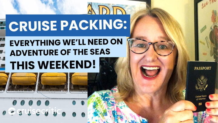 Here's What We Packed For Our Royal Caribbean Cruise (June 2021)