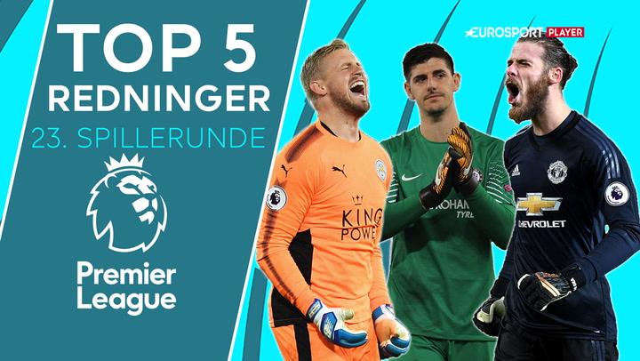 Top 5: Schmeichels fantomredning er blandt Premier League-rundens bedste!