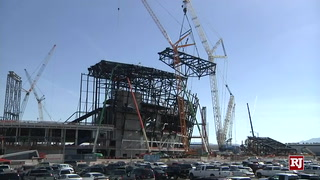 Raiders Stadium on Schedule For Completion, Safety Standards – VIDEO