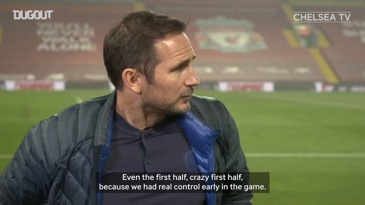 Lampard 'I can take a lot of pride from Liverpool performance'