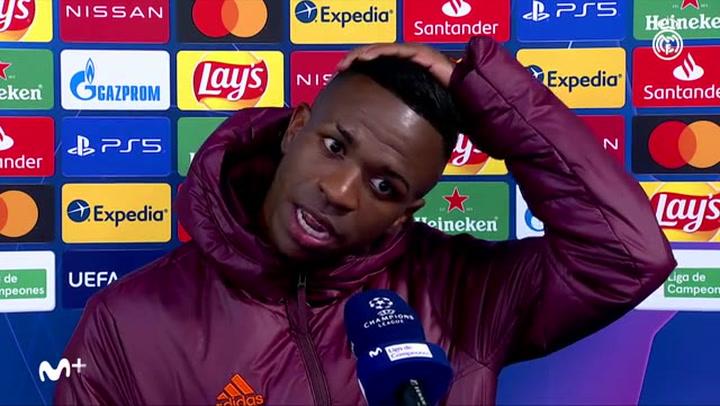 """Vinicius Jr.: """"Nadie ha conseguido hacer las cosas que Zidane nos pidió"""""""