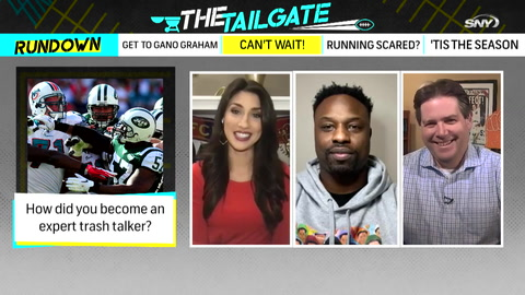 The Tailgate: Bart Scott assesses Sam Darnold and gives insight into his personal trash-talking skills!