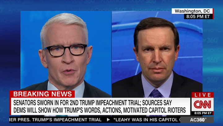 Sen. Murphy: Still a Chance Trump 'Is Going to Incite Another Attempt at the Capitol'