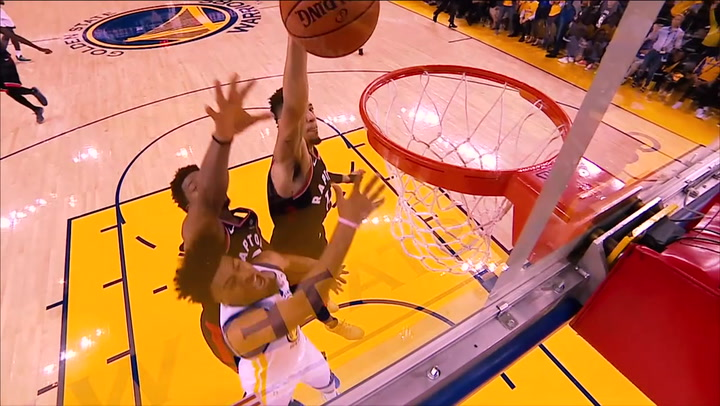 El resumen del Warriors - Raptors del playoff final de la NBA