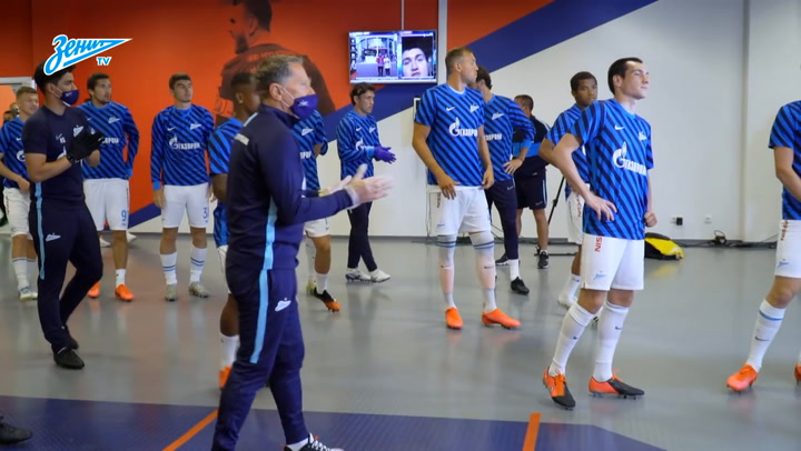 Behind the scenes of Zenit's thrashing of CSKA