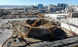 Watch Las Vegas construction boom change the city skyline
