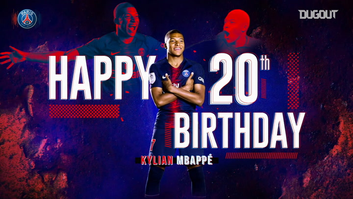 Kylian Mbappé Celebrates Turning 20