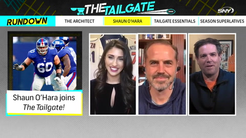 The Tailgate: Shaun O'Hara joins our super-sized Season One finale