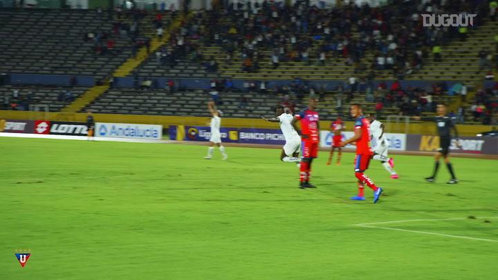 Cristian Martínez's brace vs El Nacional