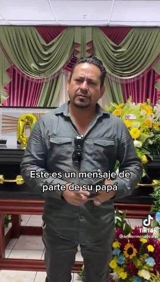 Mensaje del papá del tiktoker hondureño que se ahogó en Panacam