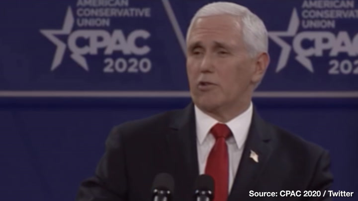 Mike Pence at CPAC: Democrat Debates Are Like a Demolition Derby
