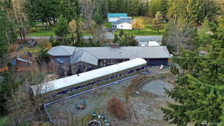You'll Want to Hop on Board This WA Home's 80-Foot Train Car