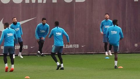 El Barcelona se prepara para una semana decisiva