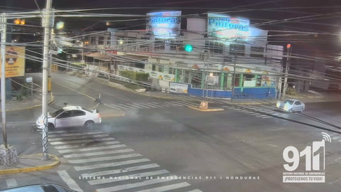 Video capta aparatoso accidente por imprudencia vial en Honduras