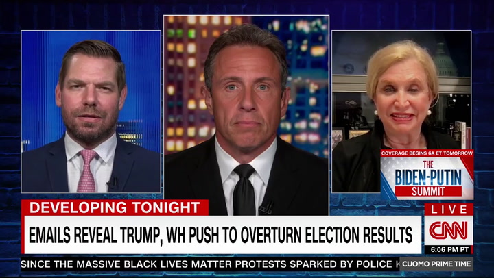 Rep. Carolyn Maloney: Trump 'Should Be Convicted' for 'Literally Trying to Steal the Election'
