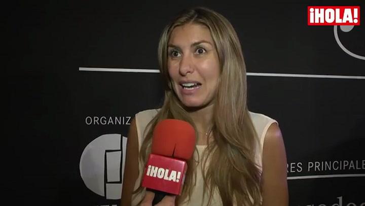 Silvia Casas: \'Mi hijo es igual que Manu, pero de carácter es como yo\'