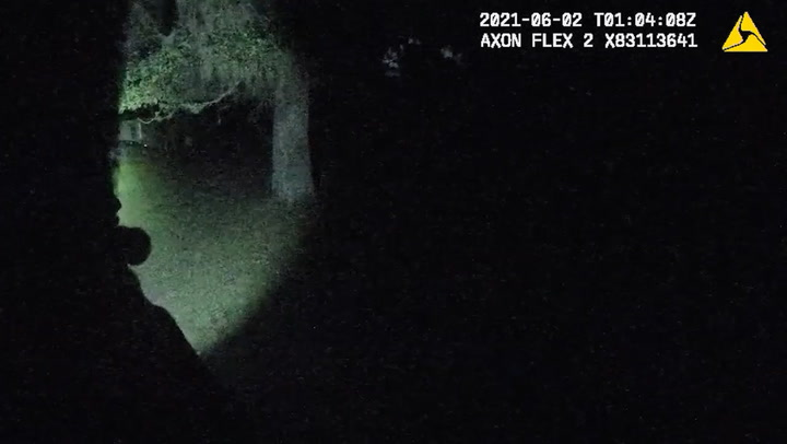 Dramatic bodycam video shows children open fire on police in violent standoff