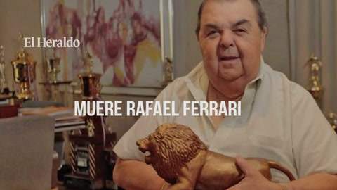 El ultimo adiós a el presidente del Club Olimpia Rafael Ferrari