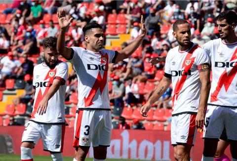Falcao debuta con gol en el Rayo Vallecano