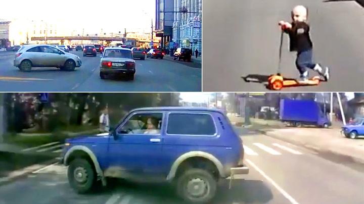 Russiske veier er livsfarlige: Her er bevisene