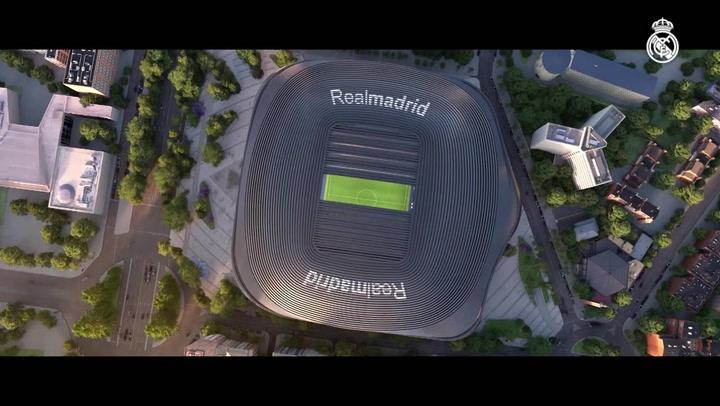 Presentación oficial del nuevo Bernabéu