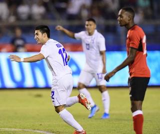 Jonathan Rubio anotó el 1-0 de Honduras ante Trinidad & Tobago