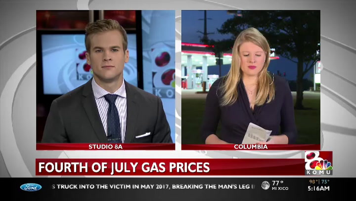 Gas prices to increase over first four days of July