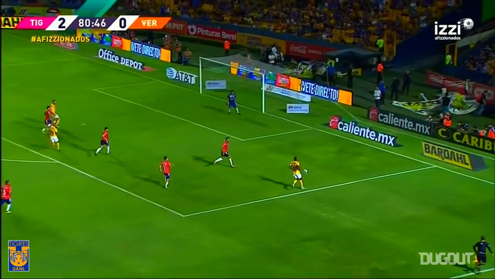 Gignac's bicycle kick goal vs Veracruz