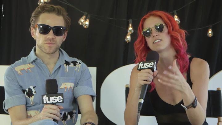 Lollapalooza 2015: MS MR Explain Bringing New Energy